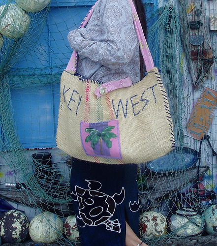 BEACH BAGS MADE IN TAMPA FLORIDA CALL 813 770 4794