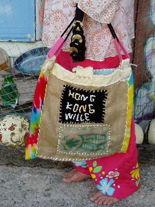 Hip grenn art, Hippie bags, Hippie bags, Hippie handmade hippie bags, green hippie bags, made in Tampa Florida