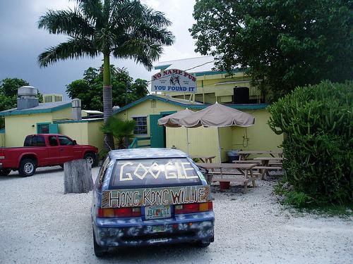 Hong Kong Willie at No Name Pub in Big Pine Key, the Florida Keys