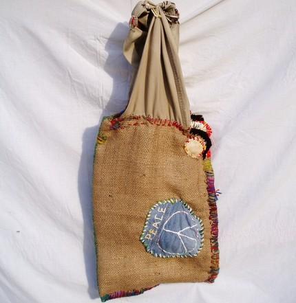 Etsy Coffee bean burlap purses