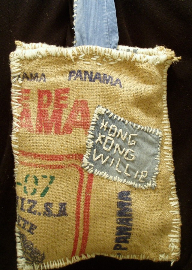 Hand Bags made from recycled coffee bags