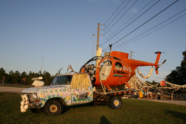 """OH-6 Cayuse nicknamed """"Loach"""" Helicopter For sale, Movie Prop, Great Sign what a attention getter."""